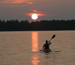 Kayak Sunset